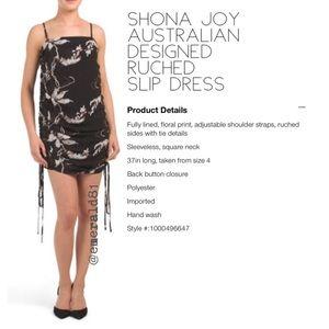 Shona Joy Australian Design Ruched Slip Dress 4
